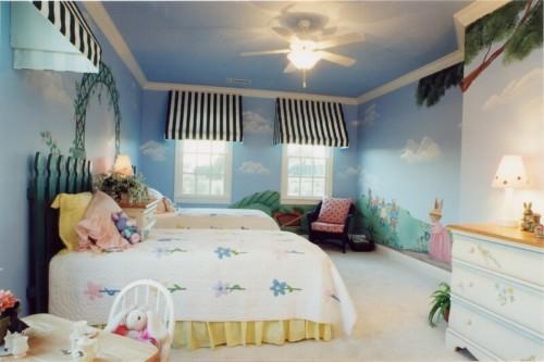Wallpaper Dinding Kamar Tidur Anak Perempuan 13 - 25 Motif Wallpaper Dinding Kamar Tidur Anak Perempuan dan Laki-laki