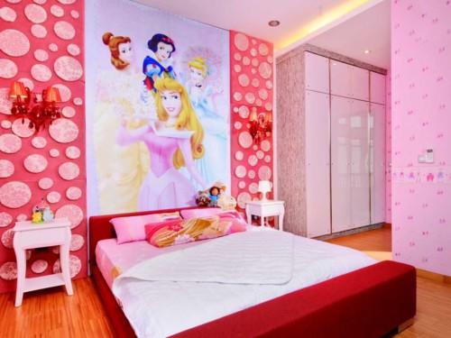 Wallpaper Dinding Kamar Tidur Anak Perempuan 2 - 25 Motif Wallpaper Dinding Kamar Tidur Anak Perempuan dan Laki-laki