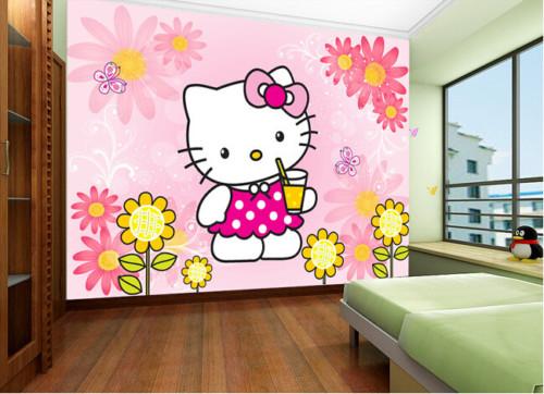 Wallpaper Dinding Kamar Tidur Anak Perempuan 5 - 25 Motif Wallpaper Dinding Kamar Tidur Anak Perempuan dan Laki-laki