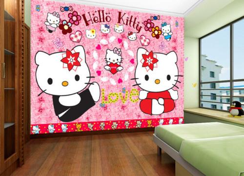 Wallpaper Dinding Kamar Tidur Anak Perempuan 6 - 25 Motif Wallpaper Dinding Kamar Tidur Anak Perempuan dan Laki-laki