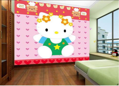 Wallpaper Dinding Kamar Tidur Anak Perempuan 7 - 25 Motif Wallpaper Dinding Kamar Tidur Anak Perempuan dan Laki-laki