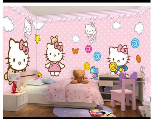 Wallpaper Dinding Kamar Tidur Anak Perempuan 8 - 25 Motif Wallpaper Dinding Kamar Tidur Anak Perempuan dan Laki-laki