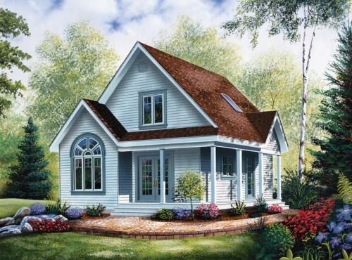 Contoh Rumah Sederhana di Kampung dan Pedesaan Terbaru 1 - 15 Contoh Rumah Sederhana di Kampung dan Pedesaan Terbaru