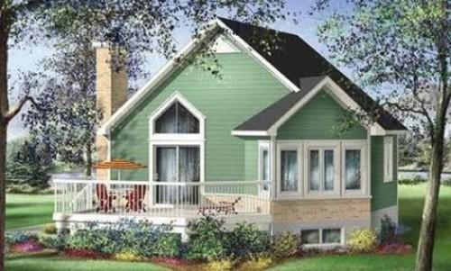 15 Contoh Rumah Sederhana di Kampung dan Pedesaan Terbaru