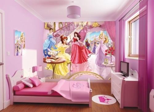 Desain Kamar Tidur Anak Perempuan Barbie 3 - 22 Desain Kamar Tidur Anak Perempuan Frozen, Hello Kitty, Barbie