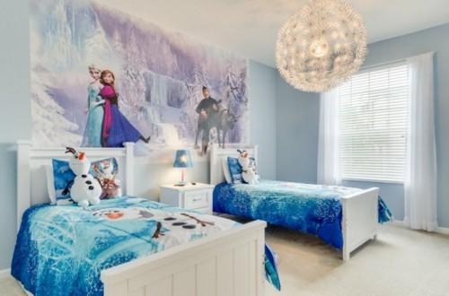 Desain Kamar Tidur Anak Perempuan Frozen 2 - 22 Desain Kamar Tidur Anak Perempuan Frozen, Hello Kitty, Barbie