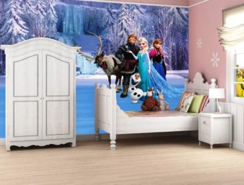 Desain Kamar Tidur Anak Perempuan Frozen 5 - 22 Desain Kamar Tidur Anak Perempuan Frozen, Hello Kitty, Barbie