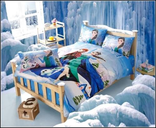 Desain Kamar Tidur Anak Perempuan Frozen Hello Kitty Barbie
