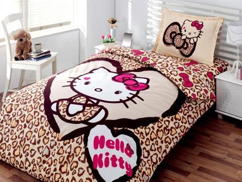 Desain Kamar Tidur Anak Perempuan Hello Kitty 8 - 22 Desain Kamar Tidur Anak Perempuan Frozen, Hello Kitty, Barbie