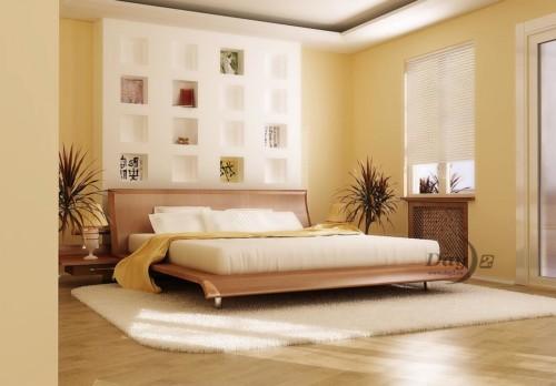 Desain Kamar Tidur Suami Istri Sederhana Tapi Romantis 6
