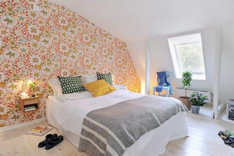 Wallpaper Desain Kamar Tidur Pengantin Romantis 16