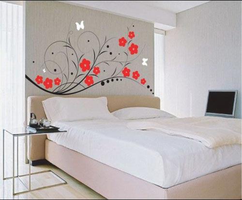Wallpaper Desain Kamar Tidur Pengantin Romantis 3
