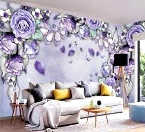 Wallpaper Desain Kamar Tidur Pengantin Romantis 4