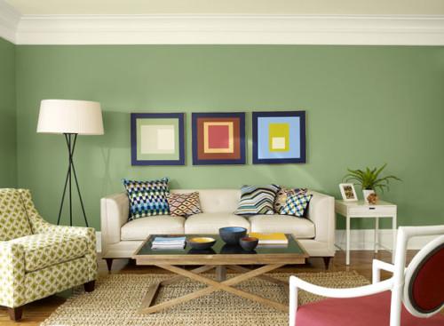 Warna Cat Ruang Tamu Minimalis Sempit