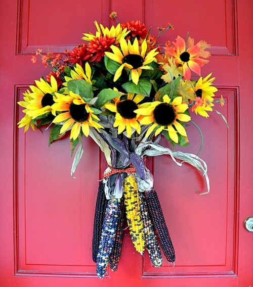 Cara Membuat Hiasan Pintu Kamar dari Bunga