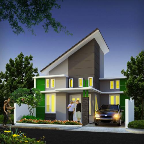 Model Atap Rumah Minimalis Bagian Depan