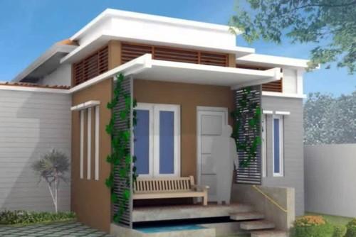 Tampak Depan Rumah Sederhana