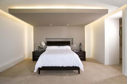Desain Plafon Kamar Tidur Modern dan Cantik