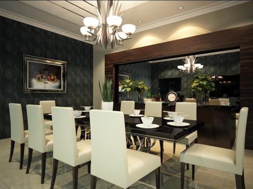 Desain Ruang Makan Bergaya Cafe