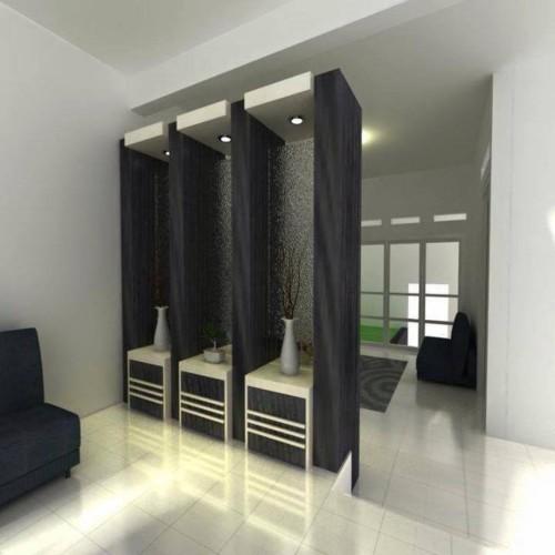 Sekat Ruangan dari Kayu