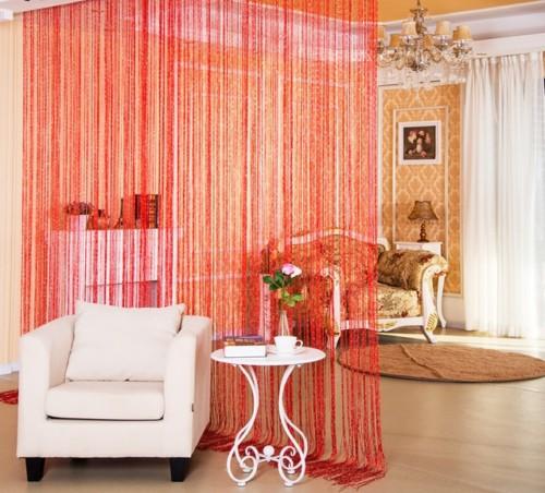 Sekat Ruangan dari Tirai