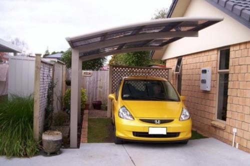 Ukuran Garasi Mobil Minimalis Kecil