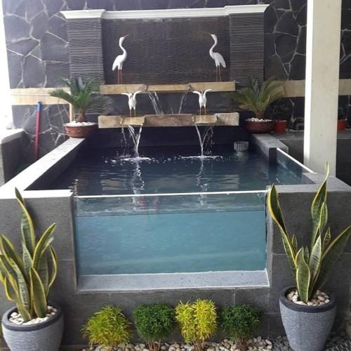 30 Desain Kolam Ikan Minimalis Kecil di Halaman Rumah
