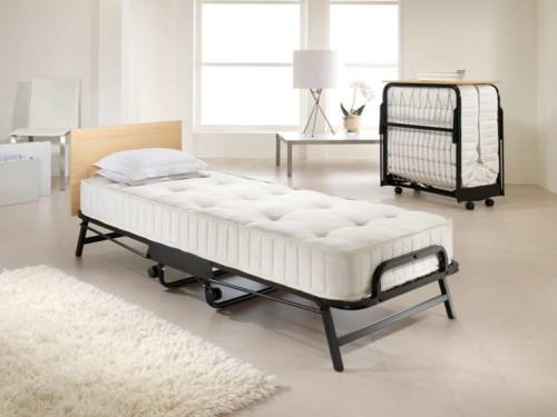 Desain Tempat Tidur Lipat Besi