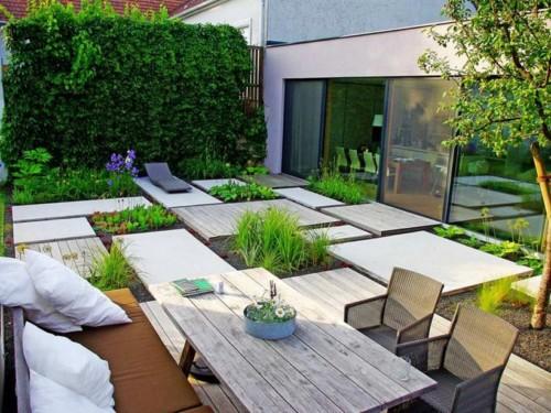 Taman minimalis untuk tempat santai