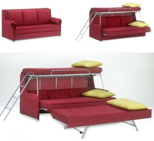 Tempat Tidur Lipat Sekaligus Sofa