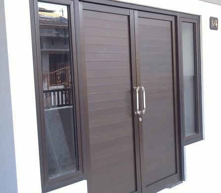 Kusen Pintu Aluminium Minimalis