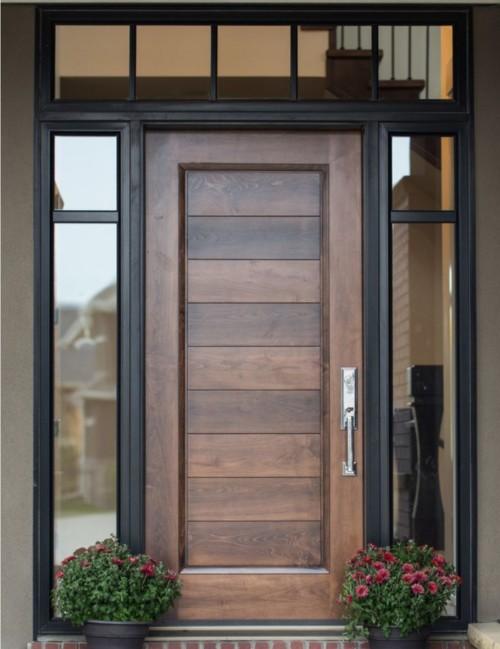 Kusen Pintu Kayu Minimalis