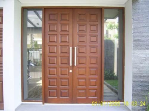 Model Kusen Pintu Minimalis
