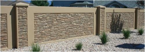 Tembok Pagar Rumah Minimalis Batu Alam