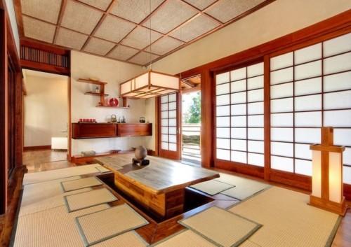 Contoh Ruang Keluarga Lesehan Ala Jepang