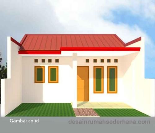 Desain Rumah Minimalis Type 21 Kecil dan Mungil
