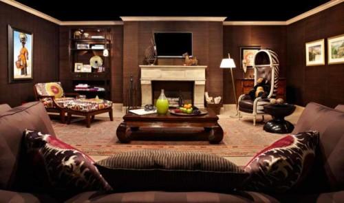 Model Ruang Keluarga dengan Meja Lesehan